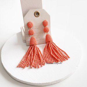 Anthropologie Jewelry - Anthro BaubleBar Granita Beaded Tassel Earrings